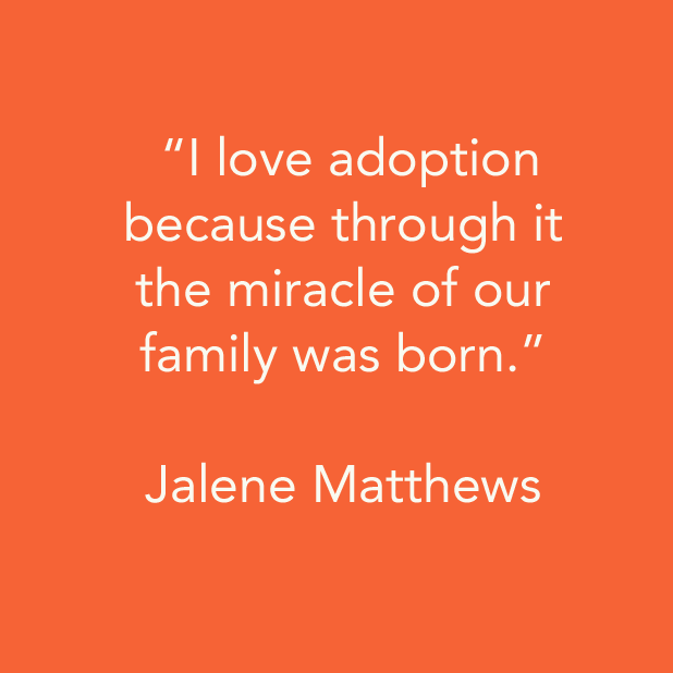 #iloveadoption