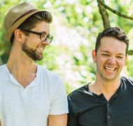 Josh and Sean