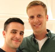 Jordan and Eric
