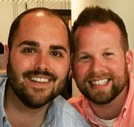 Matt and Lawrence