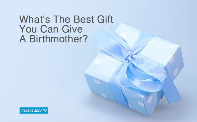 No The Best Gift You Can Give A New Birthmother Is To Keep Your Promises