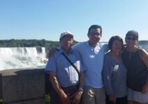 Becoming the touristic guides for our family!