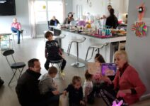 We love organizing Easter family get togethers with egg hunts!