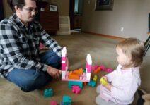 Mark and his niece Rachael