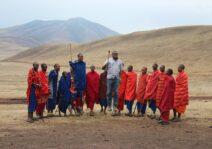 Bucket list item for Daniel: jump with the Maasai in Tanzania