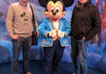 Not to brag, but we met Mickey in China.  This is the caliber of celebrities we roll with.
