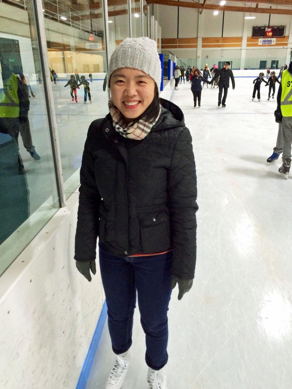 Michelle skating
