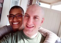 April 2021: Haircut in support of Breast Cancer Survivors