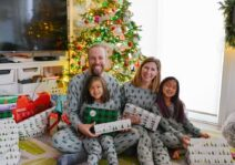 Christmas morning at our home; Dec 2020
