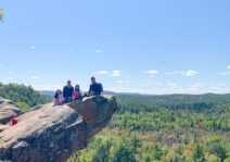 Family hike to this beautiful lookout; Sept 2020