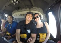 First helicopter ride ever - Hawaii