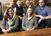 Christmas with Lindsay's family.