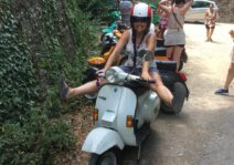 An amazing Vespa tour through the Tuscan countryside.