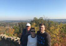 A visit with Devin's parents