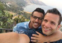 Enjoying the views in Italy