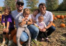 A day at the pumpkin path with our nieces