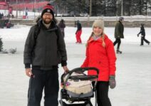 The Rideau canal is in our backyard and we enjoy it all year round!