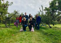 Some Apple Picking fun with the Family