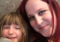 My niece (Liev) and I