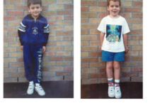 The time we first met! 5 years old in Kindergarten.
