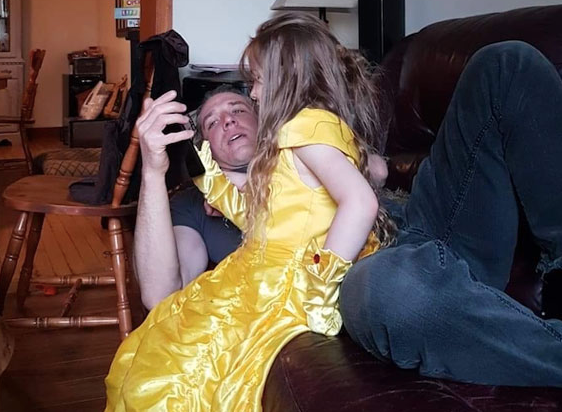 Tale as old as time: an energetic child with a very tired uncle