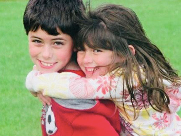 Our Kids-Sibling love our Kids-Antonio and Cristina