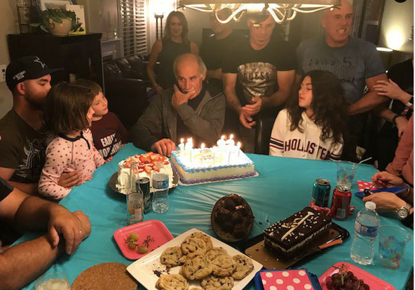 Birthday Party for All the September Babies, which includes our Daughter, myself, Father-i