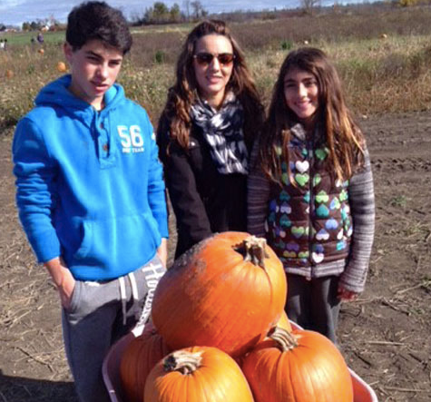 Pumpkin Picking at 'Fruition Farms'. It was a hearty season