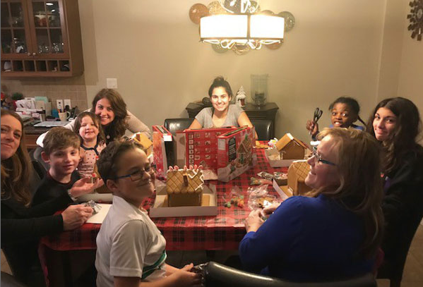 The Annual Ginger Bread House Party-Welcoming the Holiday's