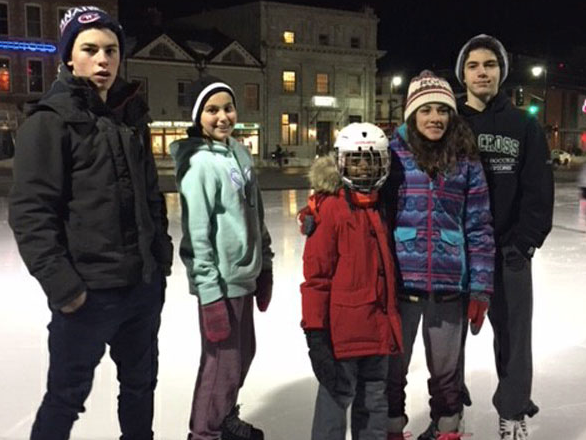 Family and Friend Fun: Skating Downtown at Market Square-It's a tradition we do every year