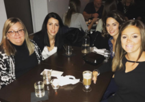 A girls night out with Carly's sisters and mom.