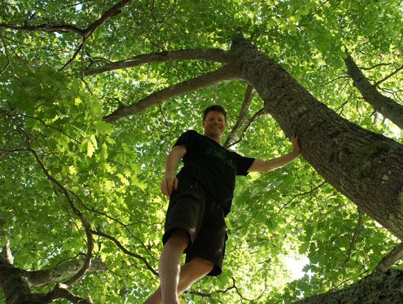 Marius likes to climb trees (2012)!