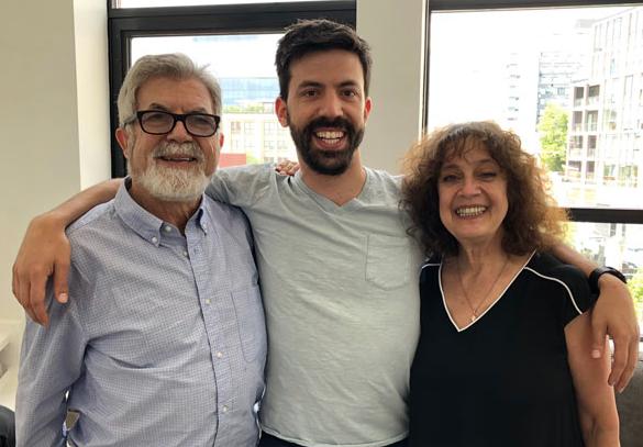 Alex and his parents