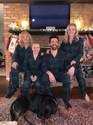 Christmas Pajama Night!