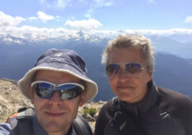 Hiking in Whistler, BC