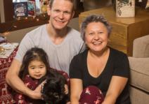 Family Christmas in Whistler