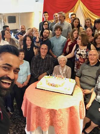 B-I-G Family Celebration for Stella's Grandmother's 100th Birthday .. xoxo