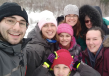 Winter Hike with Family