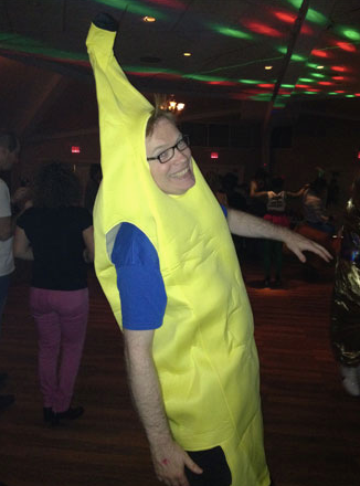 Dan as a Banana