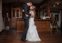 This is our first dance, Leah has only gotten more lovely every day.