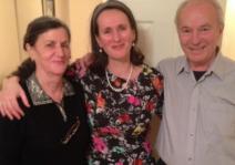 Hilda and her parents