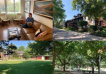 Hilda and Carl's neighborhood and home in Toronto