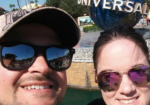 We had to check out Universal Studios while we were in Florida- it was the best part of ou