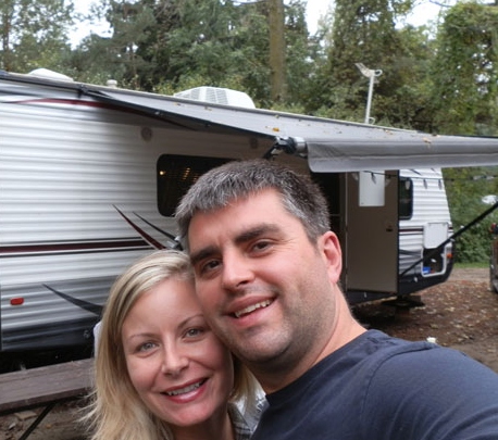 Camping with our trailer!