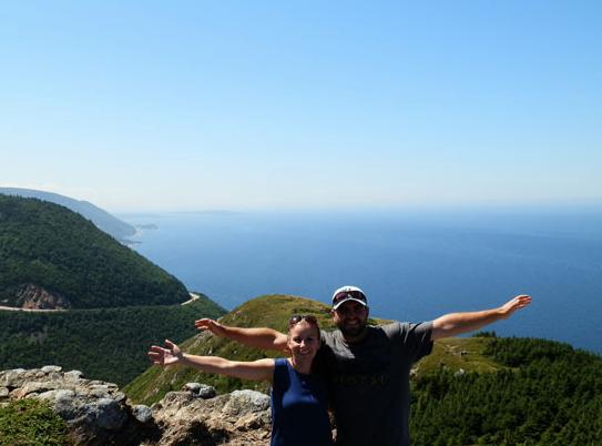 Hiking the Cabot Trail in Nova Scotia!