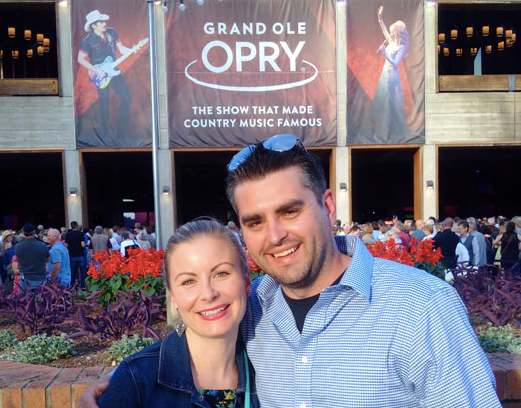 Our trip to the Grand Ole Opry in Nashville!