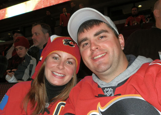Our trip to Calgary to watch the flames play!