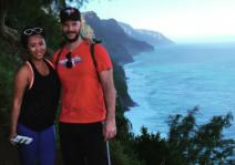 Hiking in Kauai Hawaii, with some Stunning views!