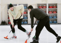 We love to curl