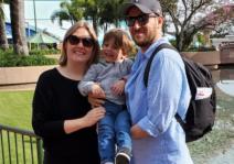 Epcot family photo
